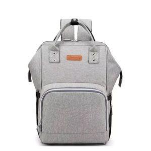 ANKOMMLING Baby USB Diaper Bag Waterproof Backpack